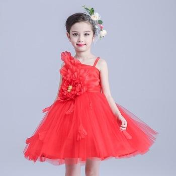 تصميم فستان أطفال سهرة هادى جداً ورائع