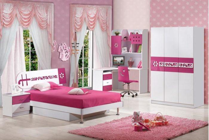 تصميم حلو جداً لغرفة نوم الكاملة وهذه الغرفة تناسب المساحات الكبيرة