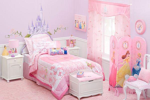 غرفة نوم بنات بتصميم اميرات ديزاني
