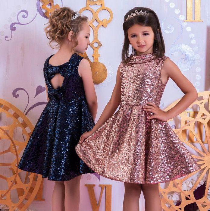 أحلى تصميم لفساتين الاطفال السواريه