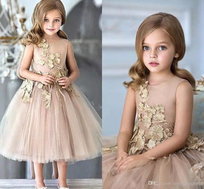 فستان سواريه للاطفال فى منتهى الجمال والشياكة