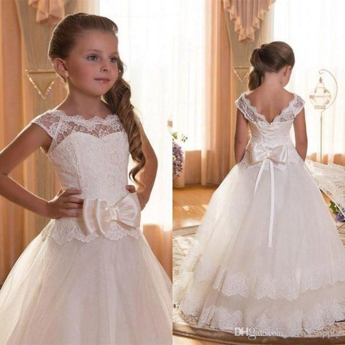 فستان أفراح للبنات الصغار جميل جداً ورائع