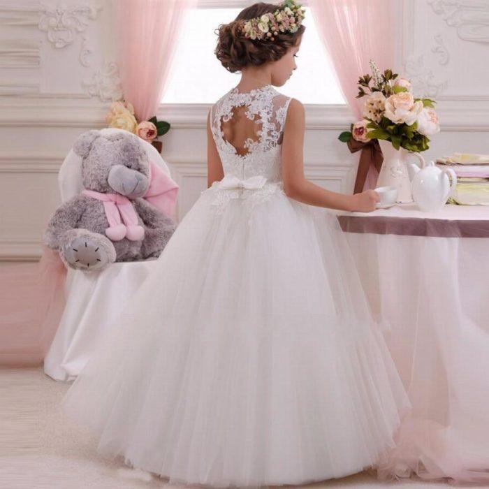 فستان أفراح للبنات الصغار في منتهى الجمال والروعة