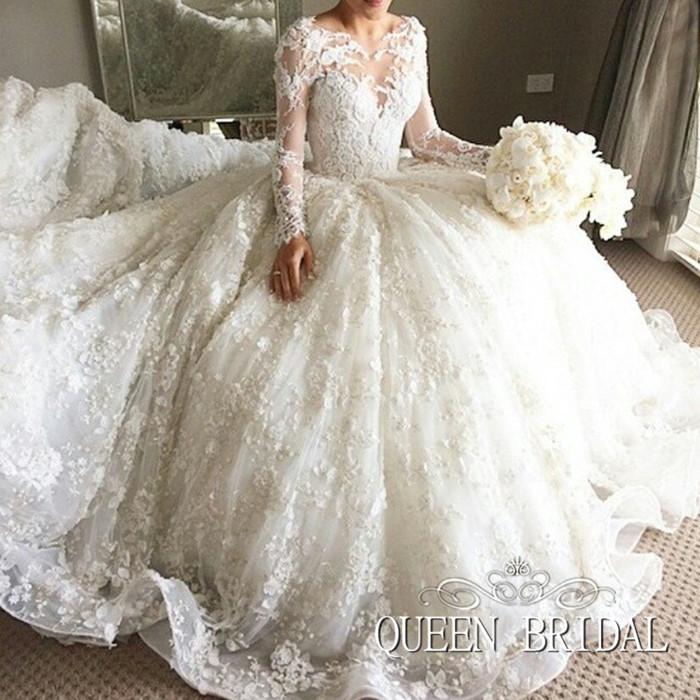 فستان تركي للزفاف جميل جداً وشيك
