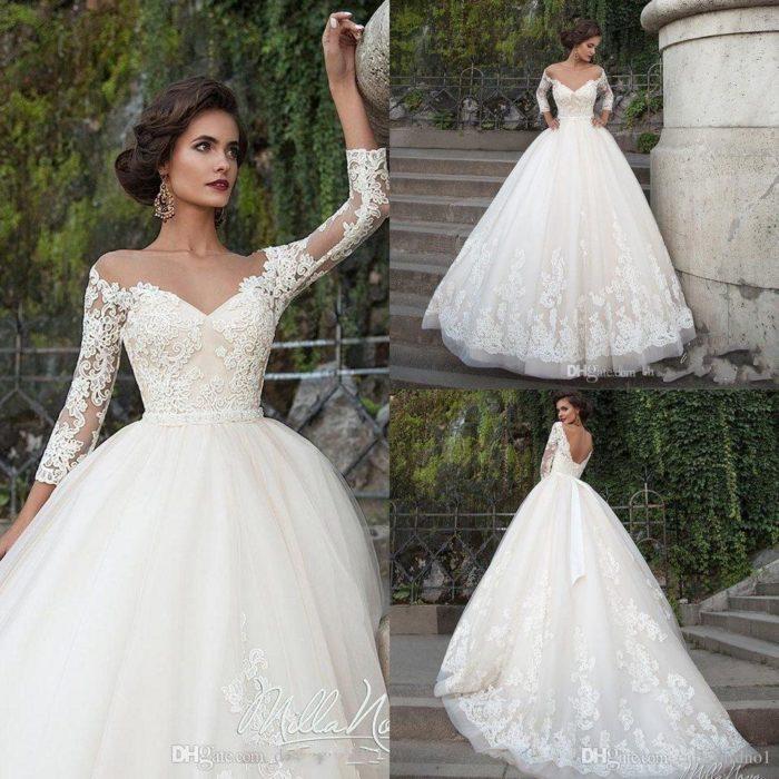 من أروع وأشيك الفساتين التركية للزفاف