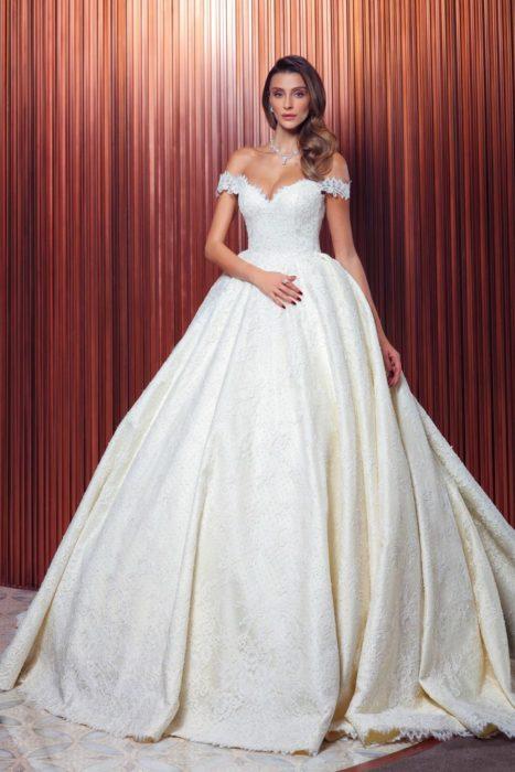 فستان زفاف تركي سيمبل