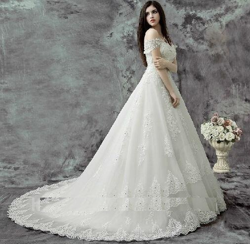 فستان زفاف تركي حلو جداً وجديد
