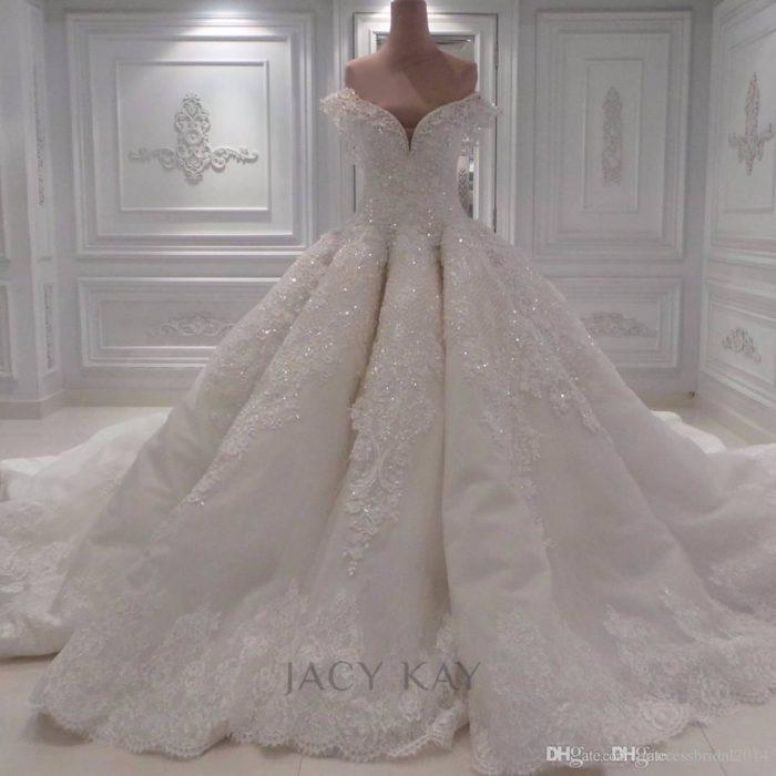 فستان زفاف تركي جديد 2018