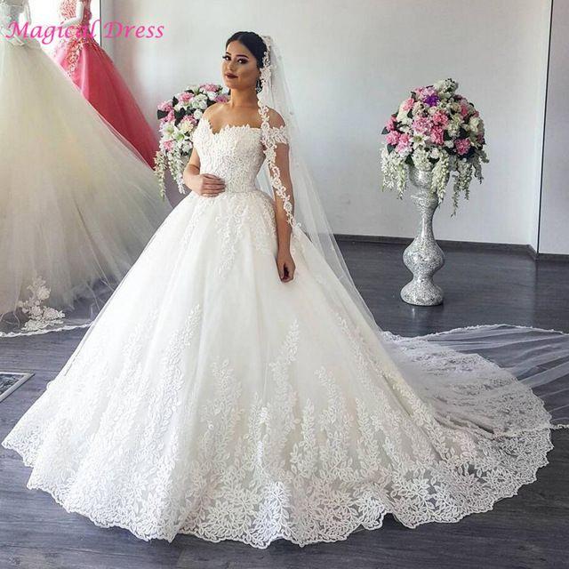 فستان زفاف تركي قمة في الشياكة