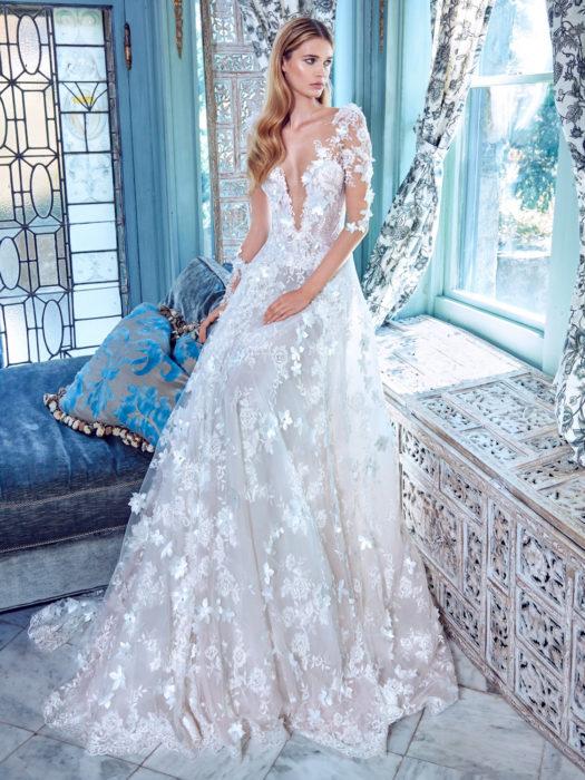من أجمل موديلات فساتين الزفاف