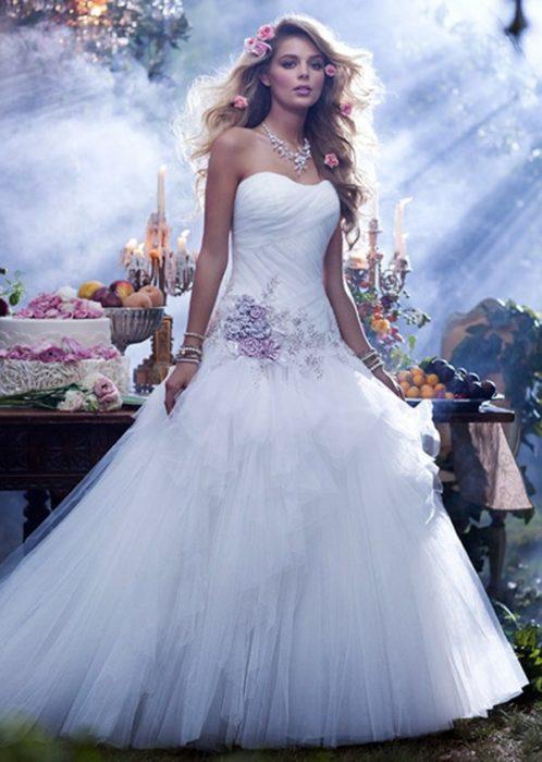 فستان زفاف قمة الروعة والجمال