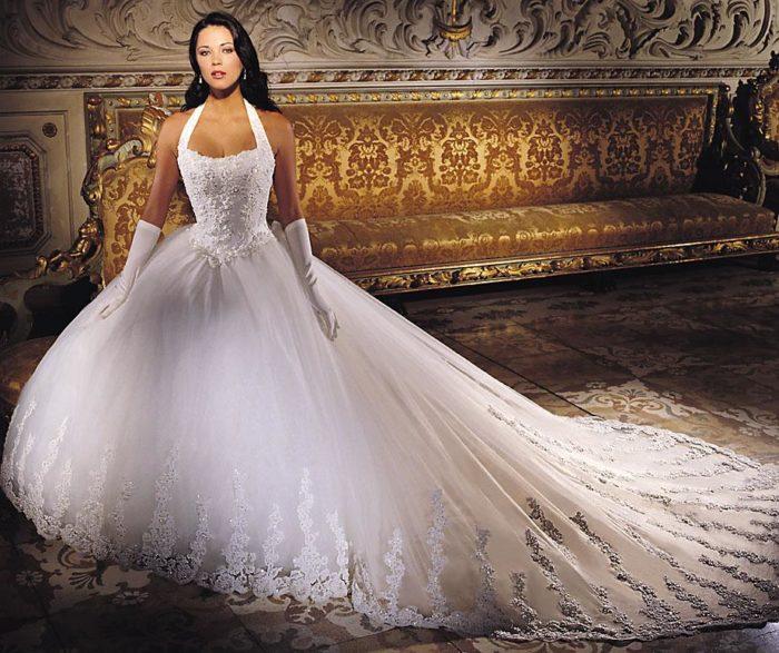 فستان زفاف في منتهى الجمال