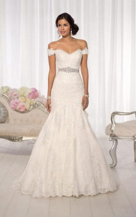 فستان زفاف حلو جداً وشيك