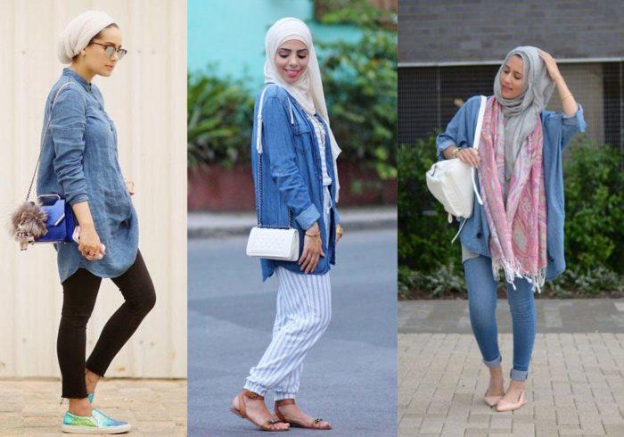 214764b7c ملابس محجبات للعيد 2018 , أشيك وأجمل موديلات ملابس المحجبات