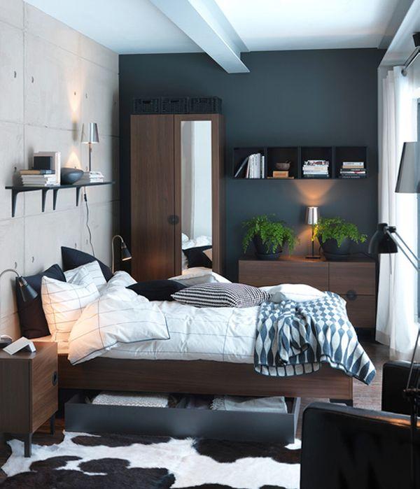 الجمال والشياكة تتميز بها هذه الغرفة وتتكون هذه الغرفة من سرير بتصميم الخزانة و2 كمودنيو بتصميم بسيط وشيك جداً