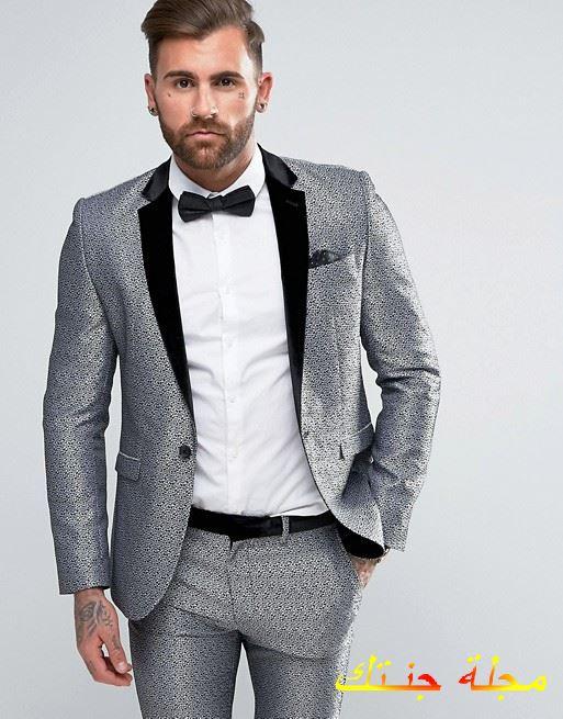 بدلة كلاسيكية رجالى موضة 2020