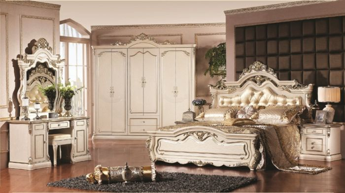 تتميز هذه الغرفة بالاناقة والفخامة وتناسب الذوق الراقي لانها تتمتع بروح كلاسكية