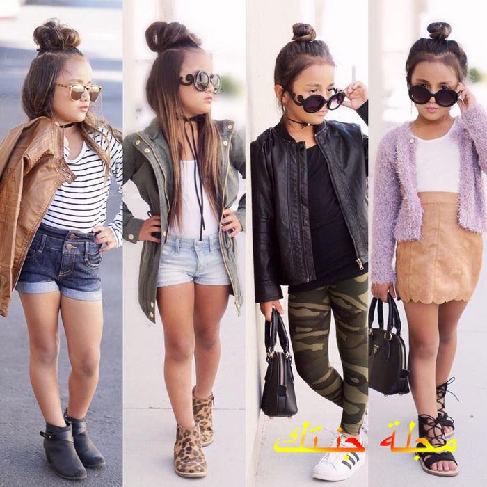 تصميمات ملابس بنات اطفال اخر شياكة وجمال