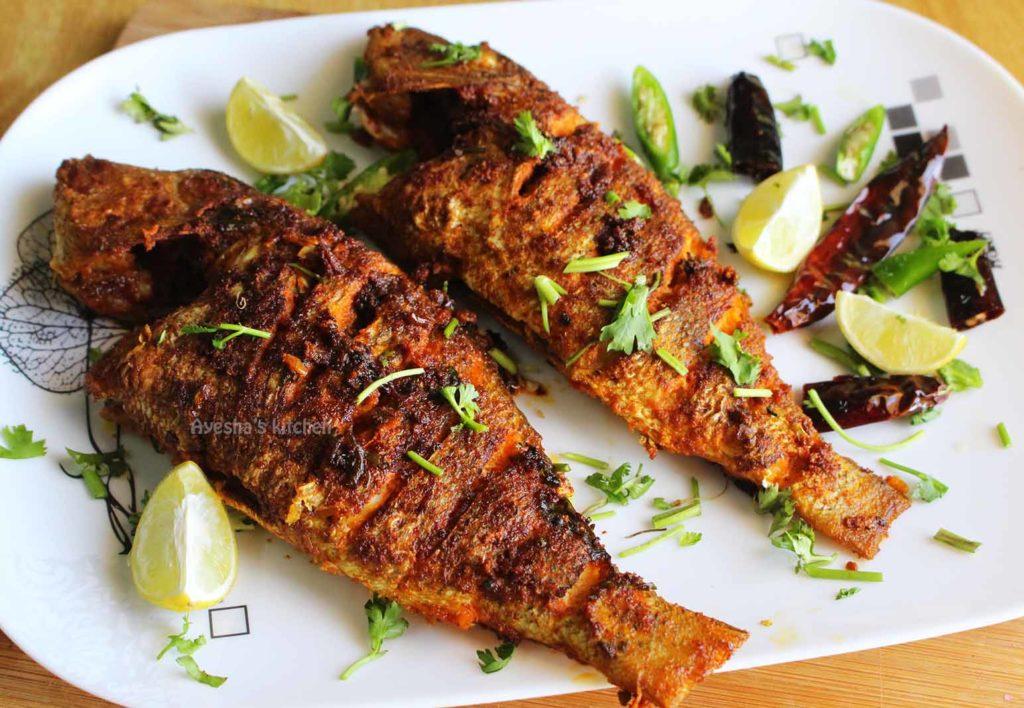 سمك مقلي مقرمش شهي ولذيذ