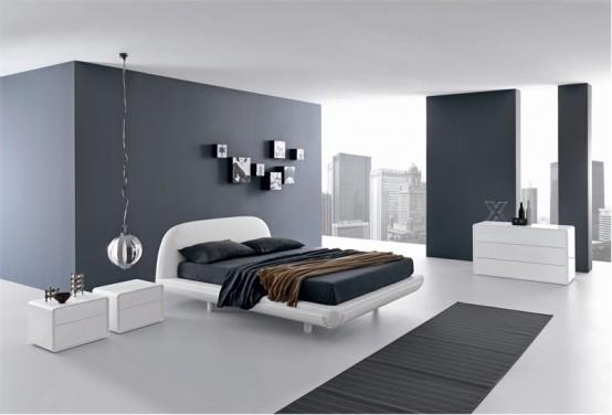 غرفة نوم أكثر من رائعة بتصميم قمة فى الهدوء والجمال