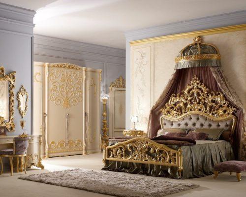 غرفة نوم ايطالية فخمة جداً وشيك