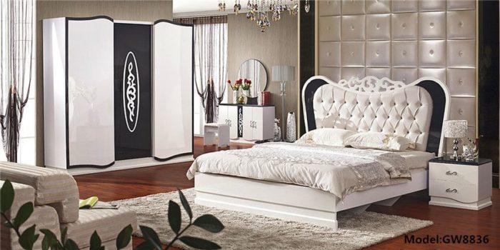 غرفة نوم بأفكار أنيقة وفخمة جداً مع تصميم عصري وجميل (1)