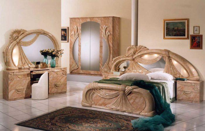 غرفة نوم بتصميم حلو جداً ورائع