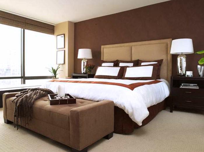 غرفة نوم بتصميم عصري انيق وشيك