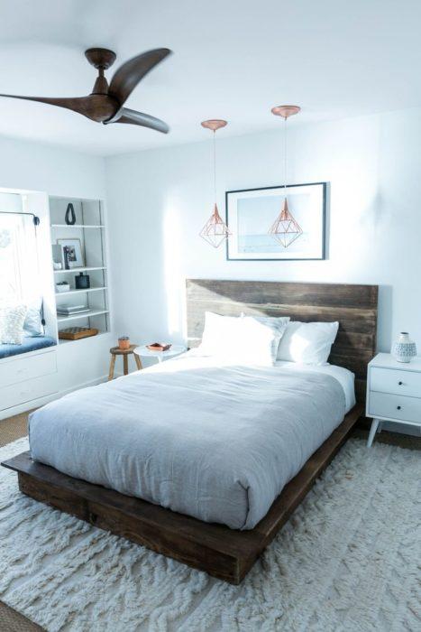 غرفة نوم بتصميم عصري جداً وشيك