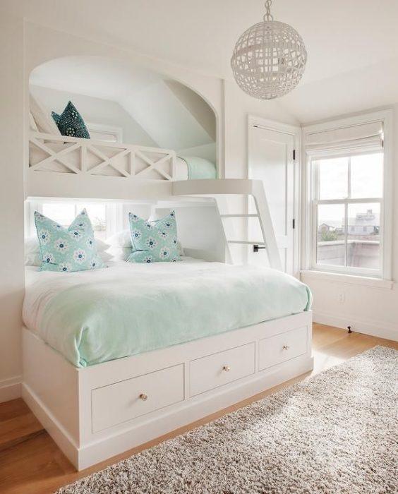 غرفة نوم بتصميم قمة فى الهدوء والجمال يناسب الذوق الراقي