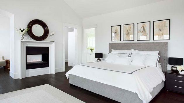 غرفة نوم بسيطة ورائعة