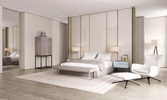 غرفة نوم جميلة جداً تناسب الذوق الراقي
