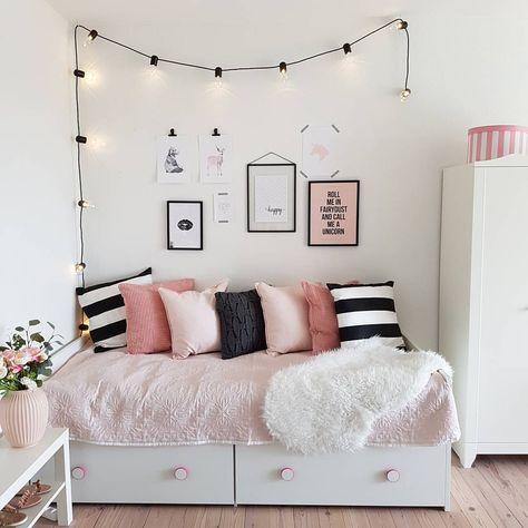 غرفة نوم حلو جداً وشيك تناسب ذوق البنات