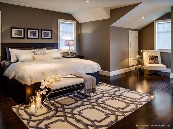 غرفة نوم رائعة تتميز بالاناقة والفخامة