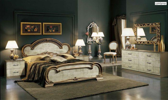 غرفة نوم رائعة وجميلة بتصميم راقي جداً