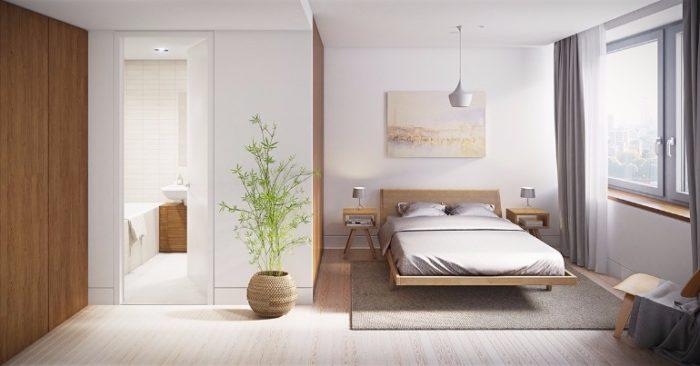غرفة نوم راقية جداً وشيك وتناسب الذوق الهادئ