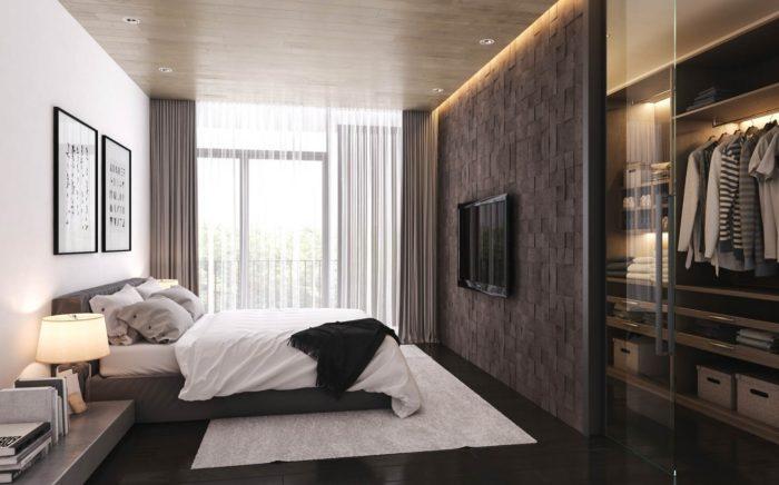 غرفة نوم راقية جداً وشيك