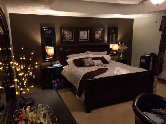 غرفة نوم روعة وشيك جداً بتصميم فندقي رائع