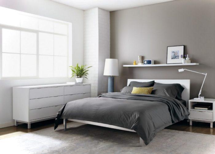 غرفة نوم شيك تناسب الذوق الهادئ