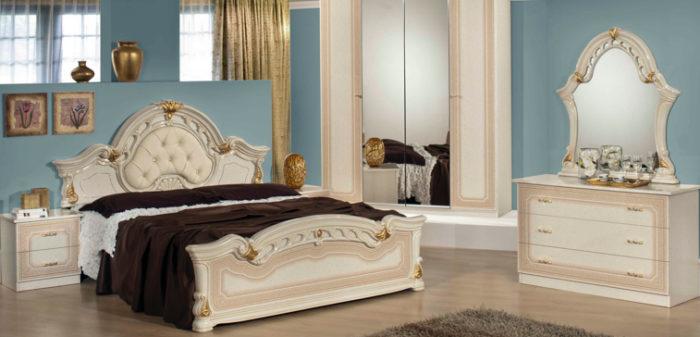 غرفة نوم شيك جداً وجميلة تناسب مختلف الاذواق
