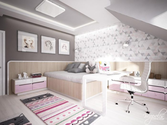 غرفة نوم عصرية شيك جداً