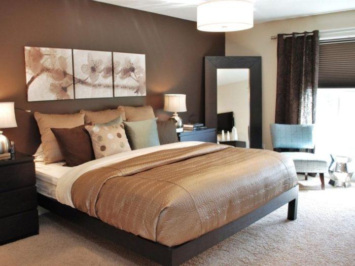 غرفة نوم فاخرة وتناسب الذوق الراي