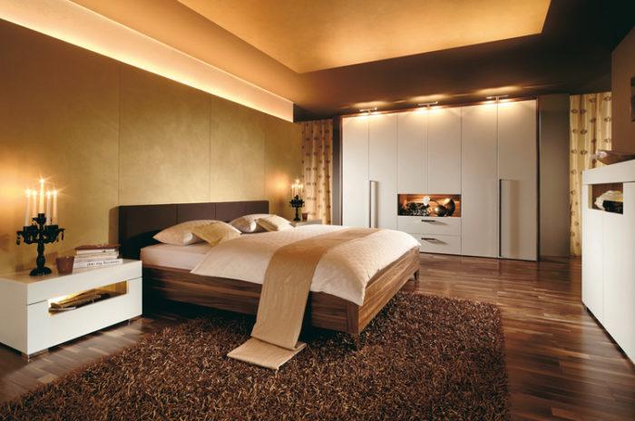 غرفة نوم فخمة جداً وشيك بتصميم جديد وجذاب