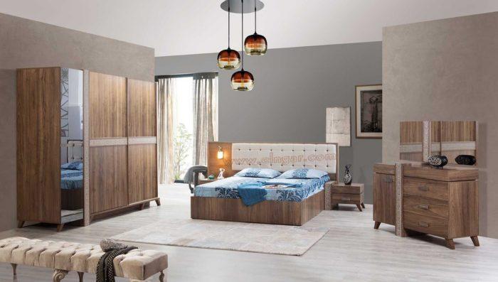 غرفة نوم فى منتهى الجمال والروعة وتناسب مختلف الاذواق