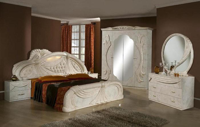 غرفة نوم فى منتهى الجمال والشياكة