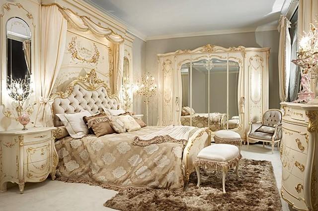 غرفة نوم قمة الشياكة والفخامة تناسب الذوق الراقي