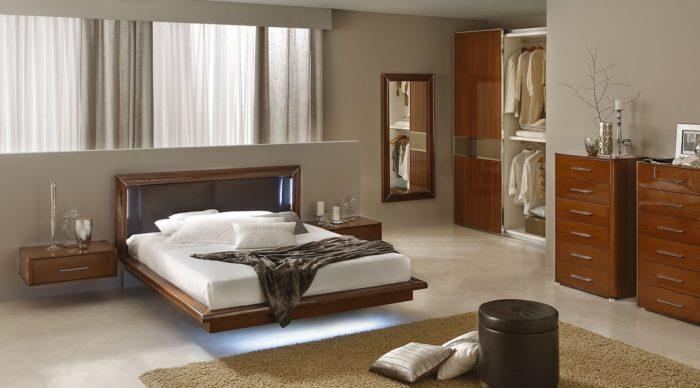 غرفة نوم كاملة بتصميم مودرن جديد 2018