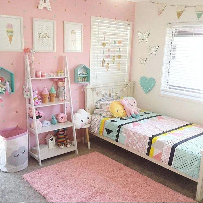 غرفة نوم للبنات بتصميم راقي جداً وشيك