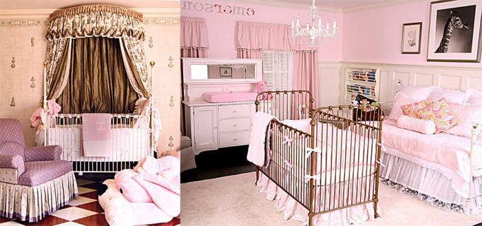 غرفة نوم للبيبهات البنات في منتهى الجمال والشياكة