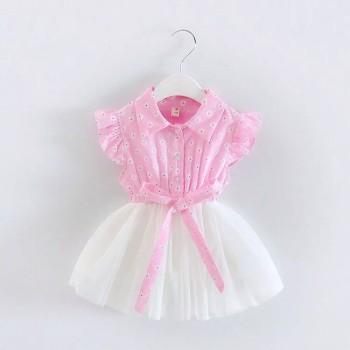 فستان بناتي حديثى الولادة رائع
